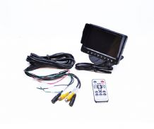 "5"" Monitor for Car Reversing Camera/ DVD Video & Audio"
